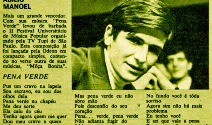 Abílio Manoel – Compacto Duplo(1974)
