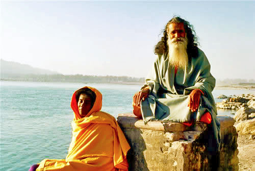Alice & Swami Satchidananda