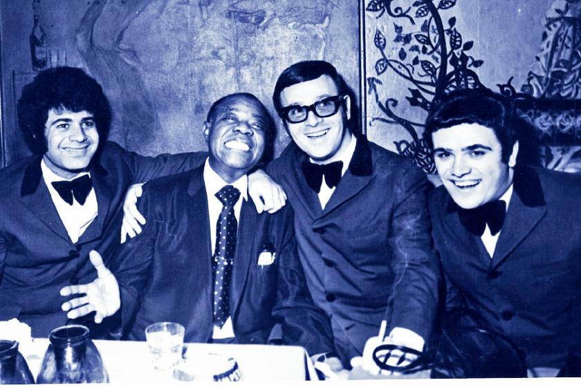 Aris San & Louis Armstrong, Siroco, 1971