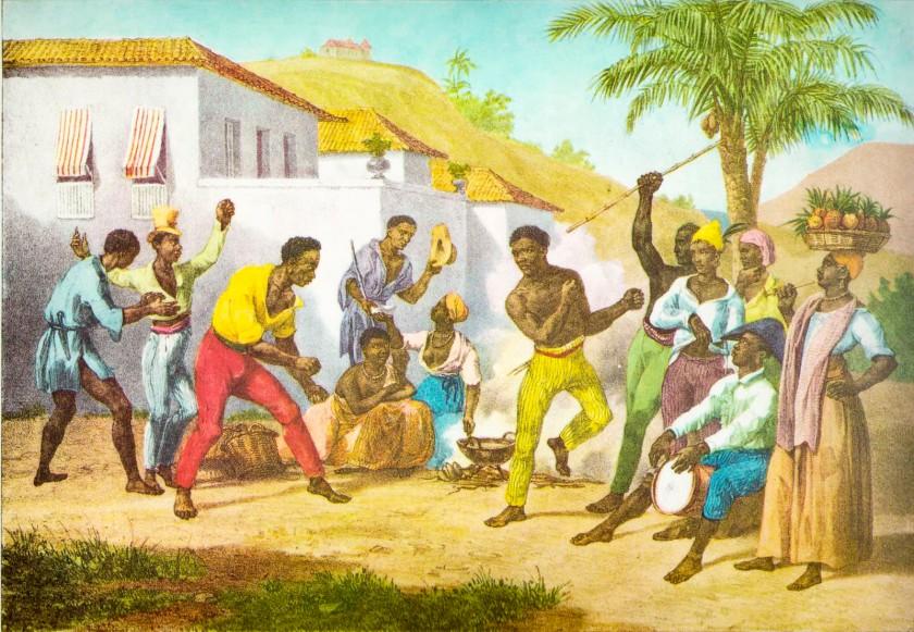 Capoeira by Rugendas