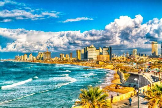 Tel-Aviv, Shoreline