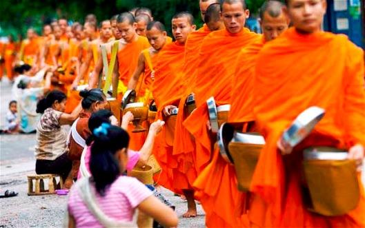 Laotian Monks