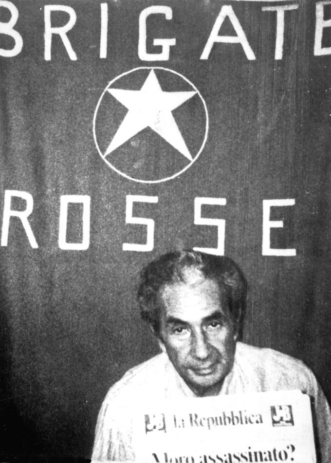 Aldo Moro, Kidnapped