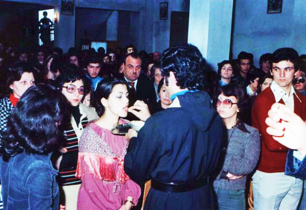 1977, Ceremony