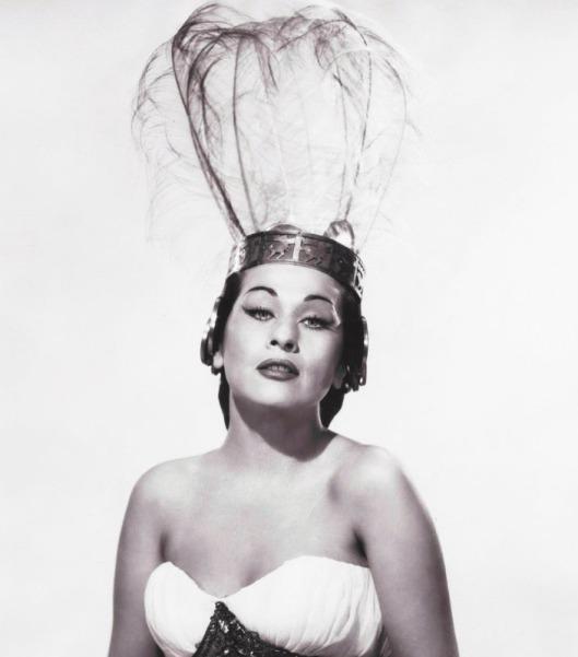 Yma Sumac, 1954