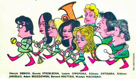 Henryk Debich, Cartoon