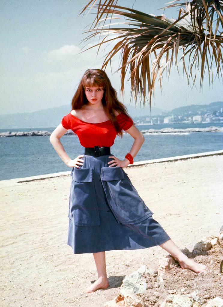 BB in Cannes, 1953