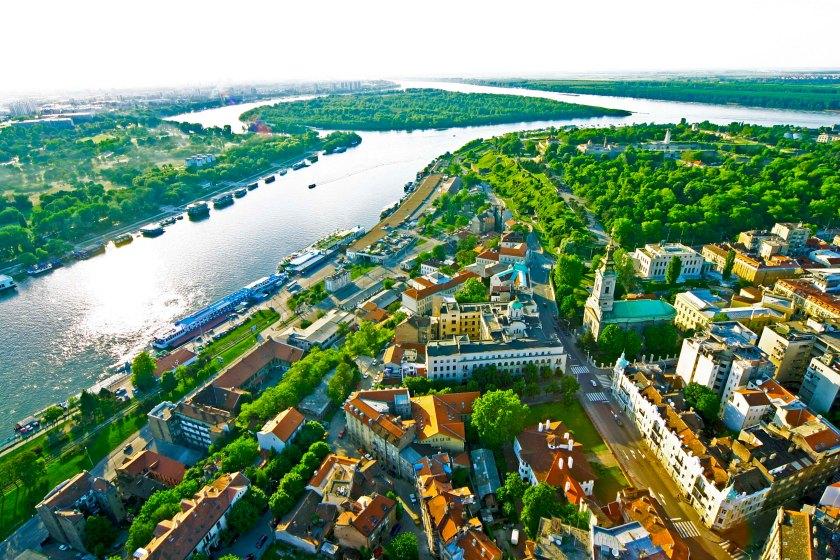 Danube, Belgrade