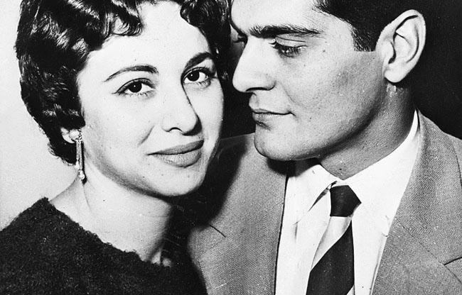 Faten Hamama & Omar Sharif