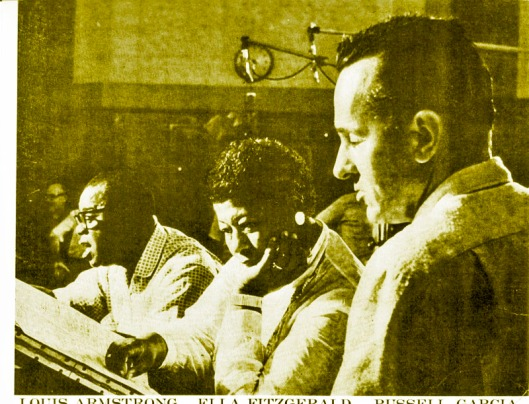 Louis Armstrong, Ella Fitzgerald & Russ Garcia