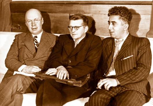 Prokofiev, Shostakovich & Aaram Khachaturian