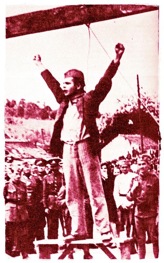 Stjepan Filipović / 'Death to fascism, freedom to the people!'