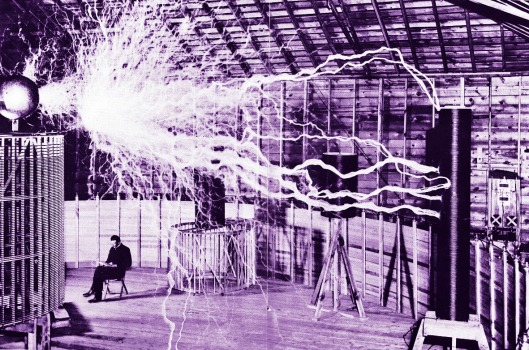 Nikola Tesla and its Magnifying Transmitter